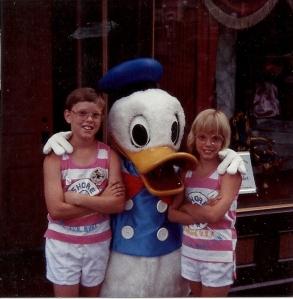 Jeremy and Jennifer on trip to Disneyland CA