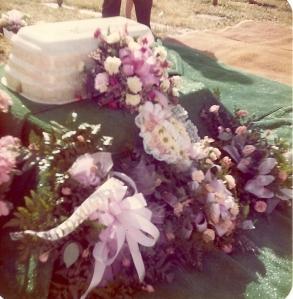 Wendy Renee's funeral 1976