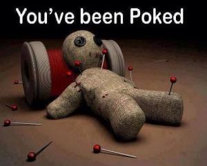 Poked